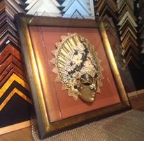 Acrylic box with frame