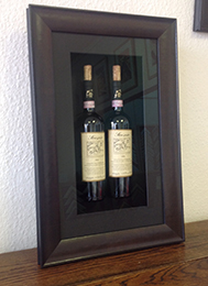 Box framing of bottles