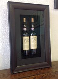 Box framing of bottles