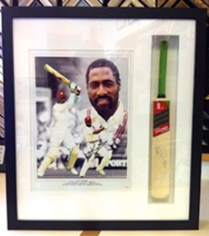 Cricket bat and Picture Framing
