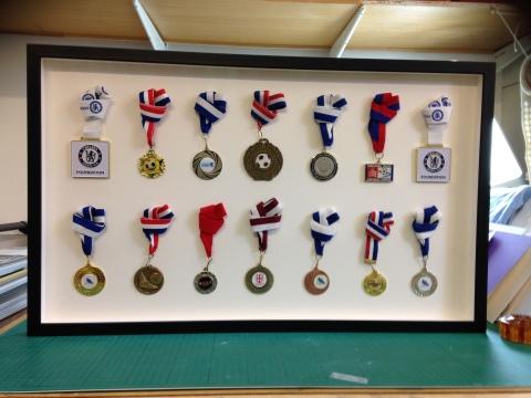 Medal framing