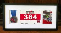 Triathlon, Race medal framing