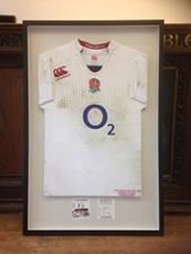 Rugby shirt framing