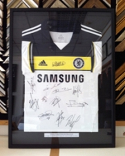 Signed Football Shirt Framed