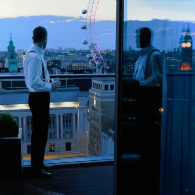 London Evening by Iain Faulkner