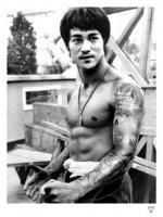 Bruce Lee by JJ Adams