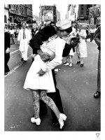 VJ Day Kiss by JJ Adams