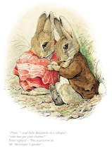 BP9030-Beatrix-Potter-Peter who-has-got-your-clothes-Tale-of-Benjamin-Bunny
