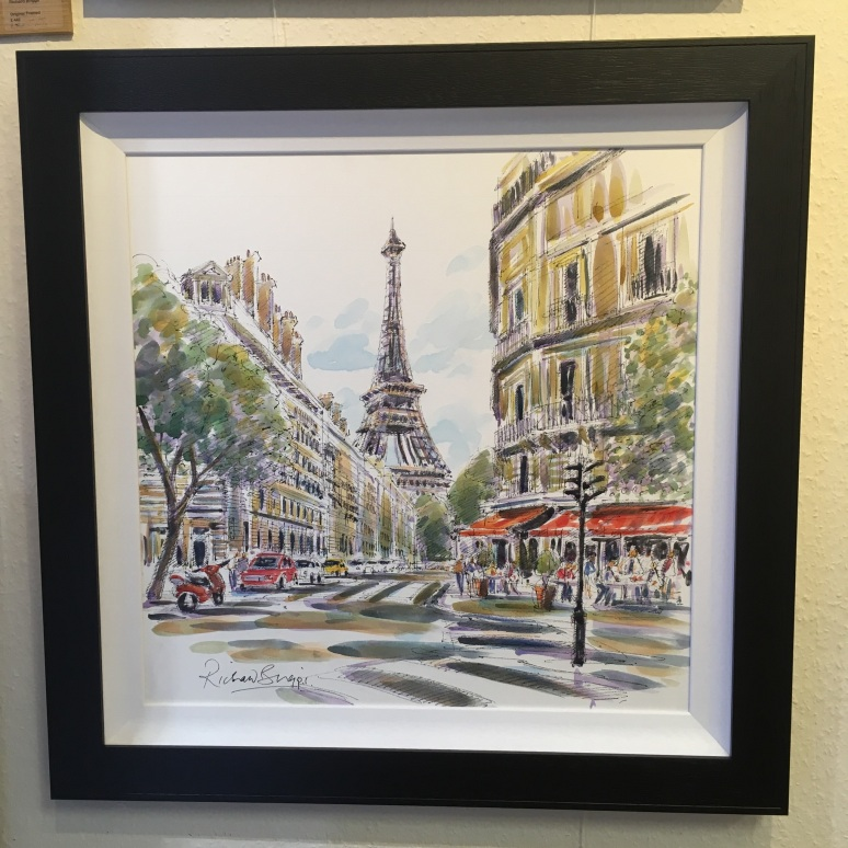 Richard Briggs original London Art