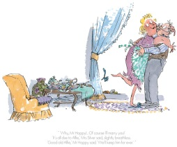 Roald Dahl - Of course I'll marry you - Esio Trot - Collectors Edition Print