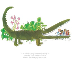 Roald Dahl - One child isnt enough - Enormous Crocodile - Collectors Edition Print