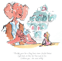 Roald Dahl - The BFG gave her a long hard stare - Big Friendly Giant.jpg