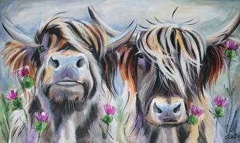 Susan BLeigh Large Bulls
