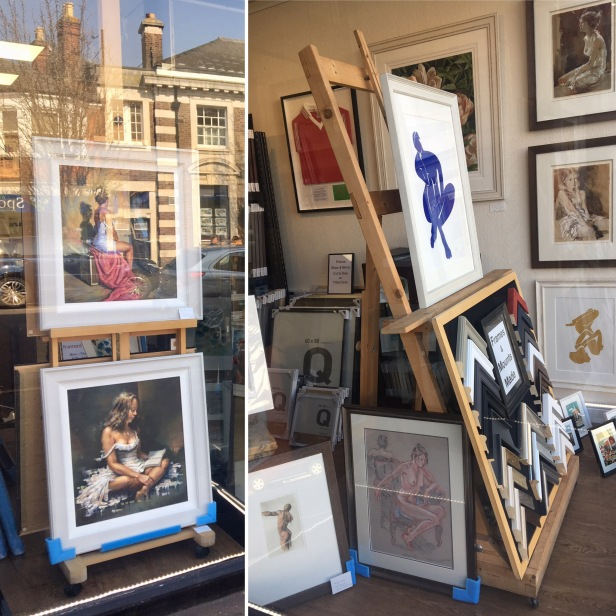 Limited edition Prints and framed originals portraits